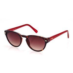 Cole Haan Red and Tortoise Wayfarer Sunglasses